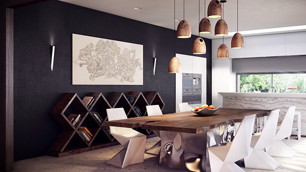 How to Decorate a Dining Room How to Decorate a Dining Room How to Decorate a Dining Room rustic modern dining table