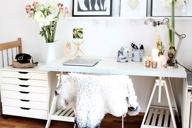 The Most Feminine Home Office Interior Design The Most Feminine Home Office Interior Design 104