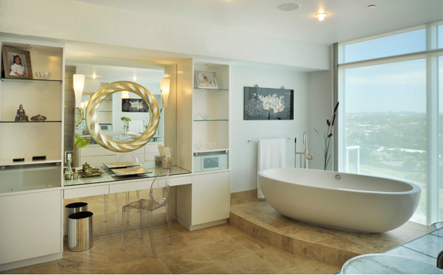 incredible bathroom mirrors for your home Incredible Bathroom Mirrors for Your Home Amelie De Goulle Interiors Copy