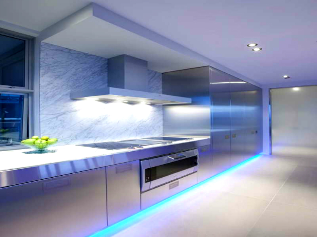 Top 10 Lighting Ideas for Your Kitchen Top 10 Lighting Ideas for Your Kitchen Top 10 Lighting Ideas for Your Kitchen Modern Kitchen Lighting Ideas with blue color1