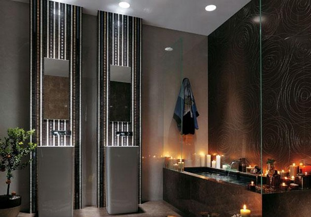 10 Inspiration lighting for your bathroom 10 Inspiration lighting for your bathroom Piastrelle Per Bagno