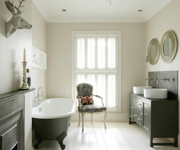 The perfect Home Furnishing for a Traditional Bathroom The perfect Home Furnishing for a Traditional Bathroom bathroom vanity round white porcelain vessel sinks polished nickel bathroom ideas bathroom bathroom1