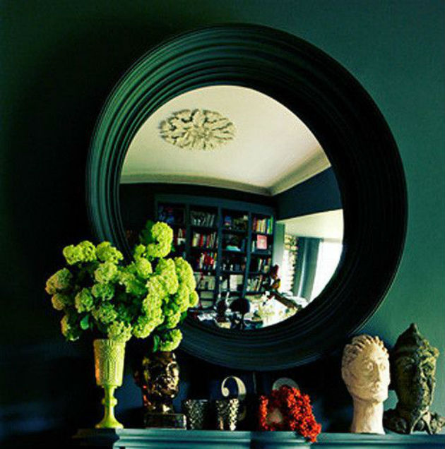 How To Decorate Your Hallway With A Convex Mirror How to Choose your Hallway Furniture How to Choose your Hallway Furniture convex mirror hallway 3