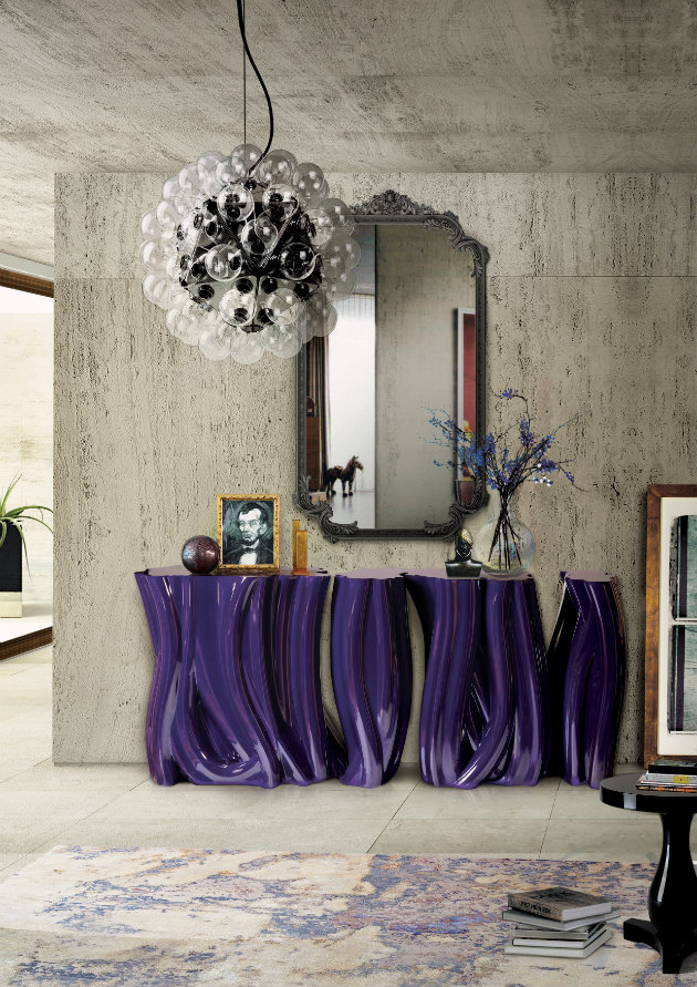 top 5 luxurious console table for your hallways Top 5 Luxurious Console Table for your Hallways monochrome 00