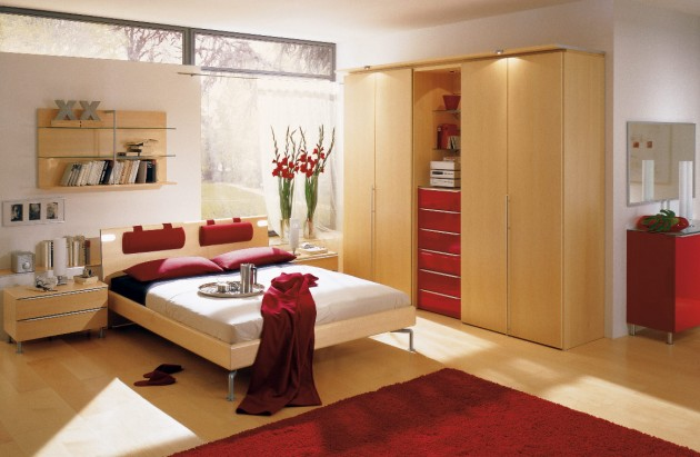 bedroom decorating ideas to inspire you Bedroom decorating ideas to inspire you red bedroom e1416937534768