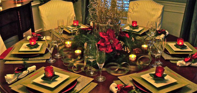 How to decorate your round dining table to Christmas with luxury How to decorate your round dining table to Christmas with luxury round table  feature