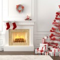Christmas Decorating Ideas for your Living Room Christmas Decorating Ideas for your Living Room Christmas Decorating Ideas for your Living Room Como decorar un arbol de Navidad blanco 1 120x120
