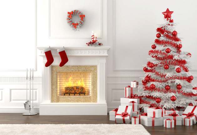 Christmas Decorating Ideas for your Living Room Christmas Decorating Ideas for your Living Room Christmas Decorating Ideas for your Living Room Como decorar un arbol de Navidad blanco 1