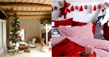Christmas Decorating Ideas for your Bedroom Christmas Decorating Ideas for your Bedroom Christmas Decorating Ideas for your Bedroom Dormitorios Navidad 350x185