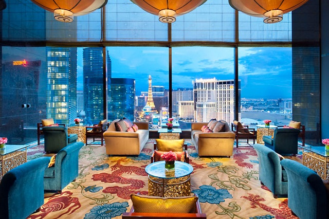 Top hotels with expensive furniture Top hotels with expensive furniture Mandarin Oriental Las Vegas by Tihany Design