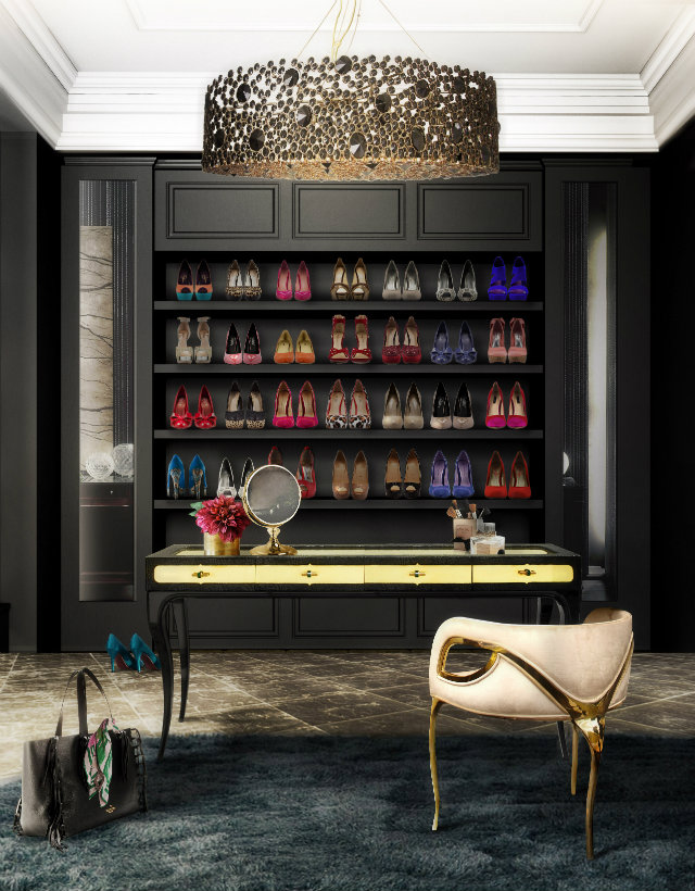 Best Tips on How to Decorate your Closet Best Tips on How to Decorate your Closet Best Tips on How to Decorate your Closet eternity chandelier chandra chair exotica desk koket projects
