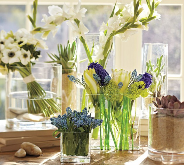bring spring into your living room Bring Spring into your Living Room flowers for spring home decorating inspiration e1424082693187