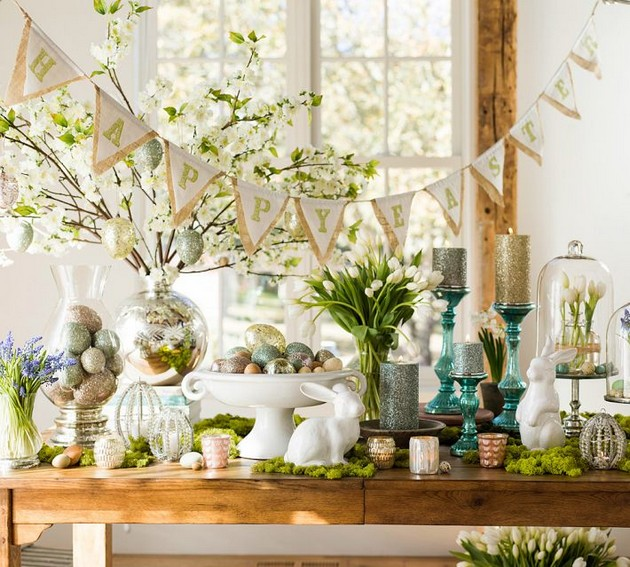 Easter Decorating for your Living Room Easter Decorating for your Living Room Room Decor Ideas Easter Living Room Living Room Ideas for Easter Room Ideas DIY Decorating 11