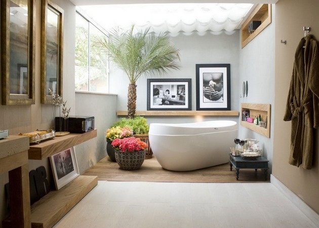 Bathroom Ideas 2015: Spring Ideas for your Bathroom bathroom ideas 2015 Bathroom Ideas 2015: Spring Ideas for your Bathroom Room Decor Ideas Spring Ideas Room Ideas Bathroom Decor Spring Bathroom Ideas Bathroom Decoration 16