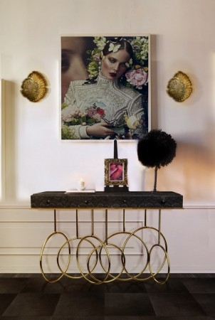 Hallway Ideas: Receive your Guests with Summer Hallway Ideas: Receive your Guests with Summer Hallway Ideas: Receive your Guests with Summer Burlesque Console Lifestyle Image 302x450