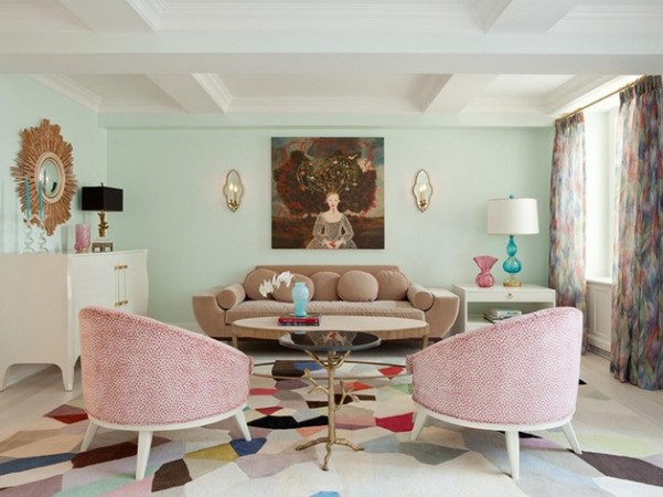 The Best Living Room Colors for Summer The Best Living Room Colors for Summer The Best Living Room Colors for Summer Room Decor Ideas Room Ideas Room Design Living Room Living Room Ideas Living Rooms Flirty Pink 1 601x450