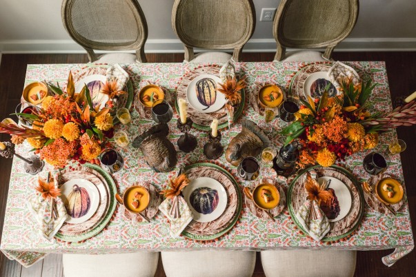 15 Decoration Ideas for Thanksgiving Dinner Thanksgiving Dinner 15 Decoration Ideas for Thanksgiving Dinner Room Decor Ideas Thanksgiving Day Table Setting Thanksgiving dinner Dining Room Dining Room Ideas 71 603x402