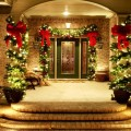 frontdoorchristmasdecoration front door christmas decoration ideas Best Front Door Christmas Decoration Ideas Outdoor Holiday Decorations for Sale 120x120