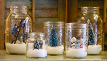 DIY Christmas Decorations for Living Room