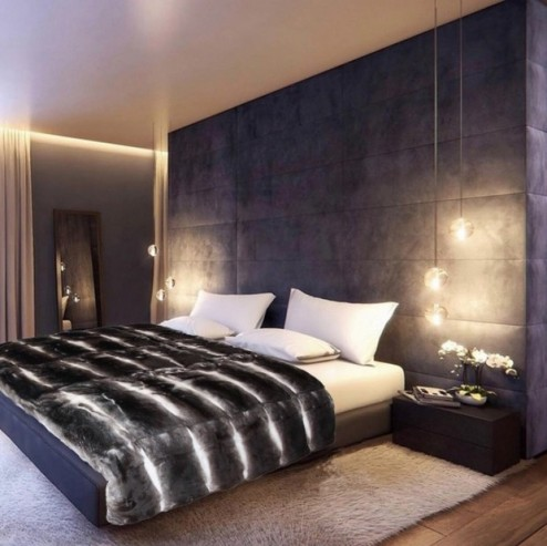 How to Decorate your Bedroom in 2016 Luxury Wall Lamps for Glamorous Bedroom Designs The Best Luxury Wall Lamps for Glamorous Bedroom Designs Room Decor Ideas How to Decorate your Bedroom for 2016 Bedroom Ideas Luxury Interior Design 2016 Trends 4 494x493