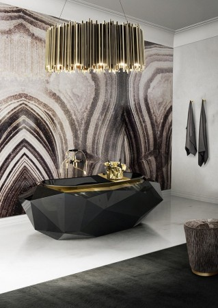 2016 Trends for Home Interiors: Gold and Raw Materials