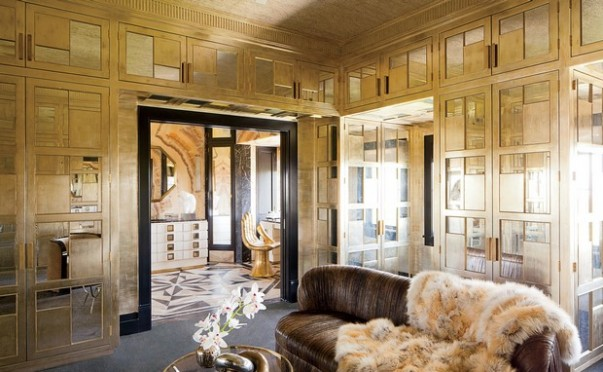 Be Inspired by These Fabulous Metallic Rooms Decor Fabulous Metallic Rooms Decor Be Inspired by These Fabulous Metallic Rooms Decor Room Decor Ideas Be Inspired by Fabulous Metallic Room Design Room Decoration Luxury Interior Design Kelly Wearstler e1452162427934 603x372