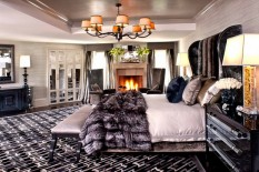 How to Decorate with Luxury Hide Rugs New Style at Home with Furs How to Get a New Style at Home with Furs Room Decor Ideas How to Decorate with Luxury Hide Rugs Luxury Rugs Luxury Interior Design Kyle Bunting Bedroom Design 233x155