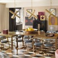 2016 Trends for Interiors: Formal Dining Rooms Are Back Deluxe Chandeliers 10 Deluxe Chandeliers you need to See at Maison et Objet Room Decor Ideas Room Ideas 2016 Trends for Interiors Formal Dining Rooms Are Back Dining Room Design Dining Room Ideas Home Decorators Kelly Wearstler Project 1 120x120