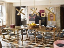 2016 Trends for Interiors: Formal Dining Rooms Are Back Deluxe Chandeliers 10 Deluxe Chandeliers you need to See at Maison et Objet Room Decor Ideas Room Ideas 2016 Trends for Interiors Formal Dining Rooms Are Back Dining Room Design Dining Room Ideas Home Decorators Kelly Wearstler Project 1 208x155