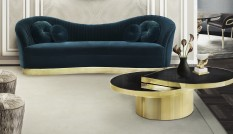 brass accessories for stylish rooms Brass Accessories for Stylish Rooms kelly sofa reve mirror tears cocktail table tresor stool koket projects 233x134