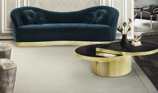 Statement Pieces you need to Decorate your Living Room Statement Pieces you need to Decorate your Living Room kelly sofa reve mirror tears cocktail table tresor stool koket projects1 603x355