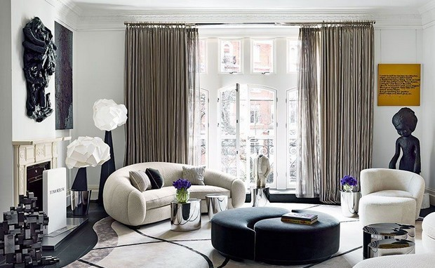 11 Living Rooms by India Mahdavi You Can't Miss Velvet Sofas Get a Spring living room with Velvet Sofas Room Decor Ideas 11 Living Rooms by India Mahdavi You Can   t Miss Luxury Homes 14 e1456851488441