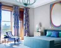 Jamie Drake's Colorful Bedrooms for Summer