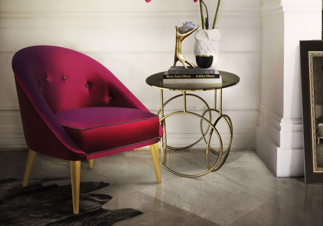 Vintage Chairs Trend Alert: Vintage Chairs for a Spring Living Room nessa chair kiki side table koket projects e1457979409766