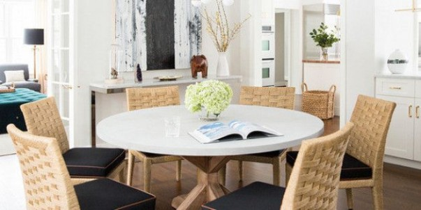 Get Inside the most stunning Dining Rooms by Nate Berkus Dining Rooms by Nate Berkus Get Inside the most stunning Dining Rooms by Nate Berkus Room Decor Ideas Get Inside the most stunning Dining Rooms by Nate Berkus 2 603x302