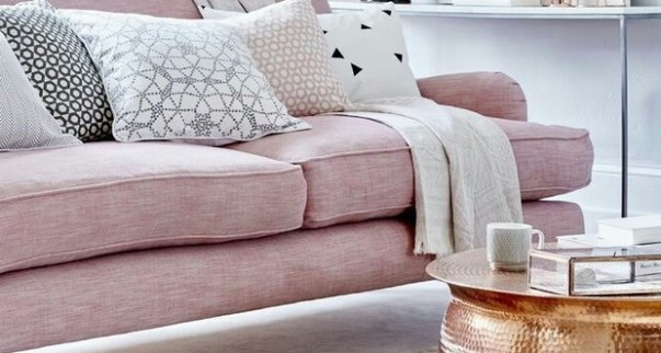 Velvet Sofas 10 Velvet Sofas That Will Make your Living Room Ready for Summer Room Decor Ideas The Hottest Summer Trends for Living Room Summer 2016 Living Room Trends 2016 Rose Quartz1 603x322