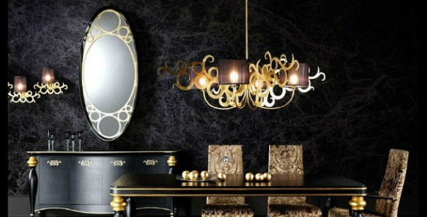 decorate with black and gold How to Decorate with Black and Gold bg5 room decor ideas 603x306