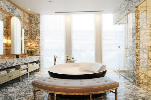 Bathroom Designs by David Collins to Inspire You Bathroom Designs by David Collins Bathroom Designs by David Collins to Inspire You Room Decor Ideas Bathroom Designs by David Collins to Inspire You Luxury Bathroom Luxury Homes 7 603x402