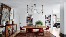 Beautiful Celebrity Dining Rooms to Inspire You celebrity dining rooms Beautiful Celebrity Dining Rooms to Inspire You Room Decor Ideas Beautiful Celebrity Dining Rooms to Inspire You Naomi Watts and Liev Shreiber Dining Room 233x132