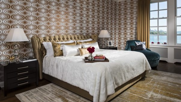 design pieces to accessorize a bedroom The Perfect Design Pieces to Accessorize a Bedroom A Classic Modern Home In Chicago luxury bedroom interior design 603x340