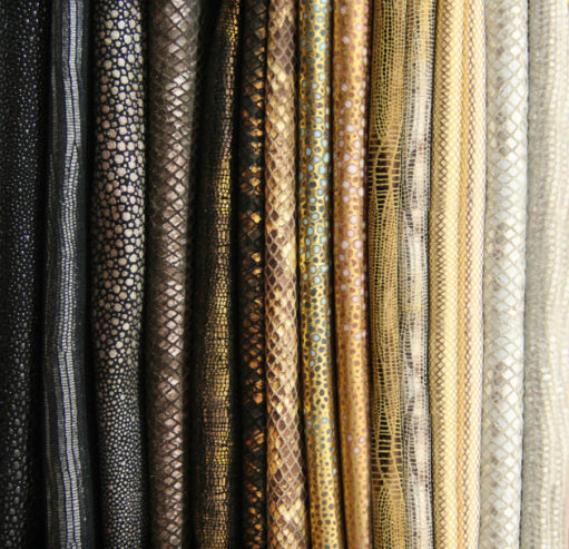 Home Decor Trends: Metallic Leather home decor Home Decor Trends: Metallic Leather textiles 1 511x493
