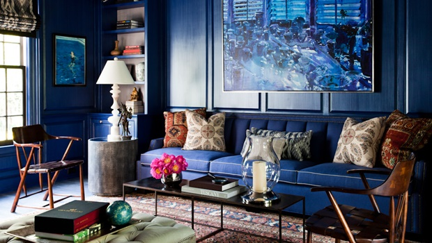 Perfect Interior Design in Blue Back to Classic: How to Get a Perfect Interior Design in Blue zach desart 1