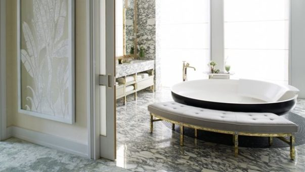 Bathroom Ideas by Famous Interior Designers 30 Bathroom Ideas by Famous Interior Designers Room Decor Ideas 30 Bathroom Ideas by Famous Interior Designers Best Interior Designers in the World Bathroom Design David Collins 2 1 603x340