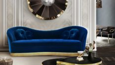 Stylish Accessories to a Bold Living Room The Most Stylish Accessories to a Bold Living Room reve mirror kelly sofa tears cocktail table koket projects1 233x132