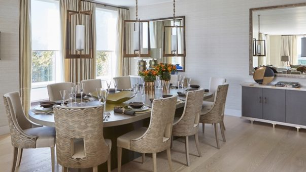 Dining Room by Helen Green How to Get a Glamorous Dining Room by Helen Green Room Decor Ideas How to Get a Glamorous Dining Room by Helen Green Luxury Homes Luxury Interior Design Dining Room Design 11 603x340