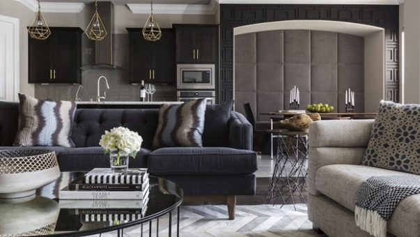 Luxury Interior Design A Modern Home with a Black Luxury Interior Design Room Decor Ideas Modern Home with a Black Luxury Interior Design Luxury Homes Home Interior 603x340