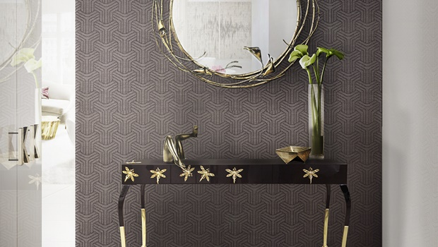 home decor trends for 2017 Home Decor Trends for 2017: Get the Glamour of Mineral Grey luridae console stella mirror koket projects