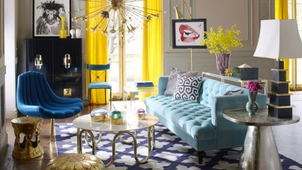 living rooms by jonathan adler Living Rooms by Jonathan Adler that Bring Color to Winter room decor ideas jonathan adler 603x340