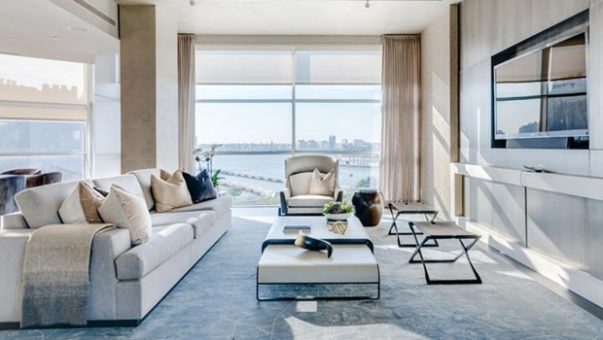 Celebrity Homes Celebrity Homes: The Luxury Penthouse of Kim Kardashian in New York KOKET News Inside Kim Kardashian and Kanye Wests Luxury Penthouse in NYC 2 1 603x340