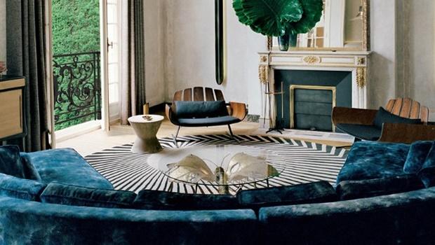 Home Decor Trends 2017 Home Decor Trends 2017: Get a Pop of Color with Dusky Blue Room Decor Ideas Home Decor Trends 2017 Get a Pop of Color with Dusky Blue Living Room Design1 1
